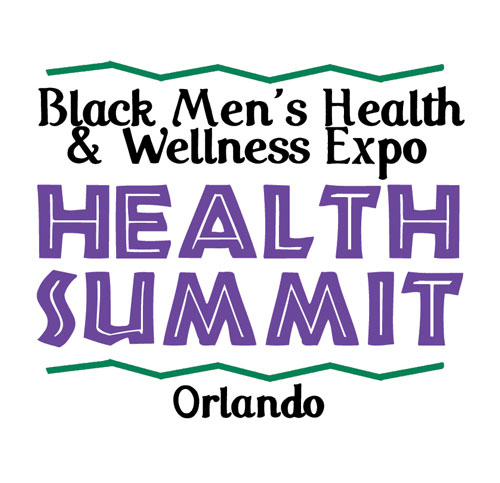 Health Summit logo black background